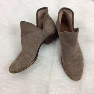 Lucky Brand | suede booties